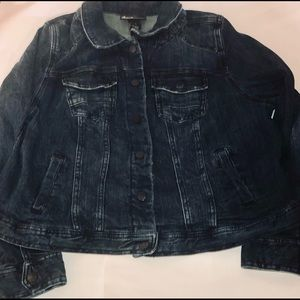 Lane Bryant  Stretch Women's Jean Jacket Size 20